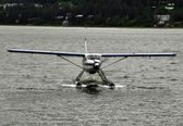 Juneau Floatplane Landing Center — Stock Photo