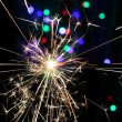 Sparkler pyrotechnics — Stock Photo