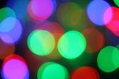 Kerstmis bokeh lichteffecten — Stockfoto