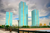 Architecture in city Astana, Kzakhstan — Stock Photo