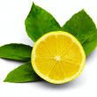 Lemon isolated — Stock Photo
