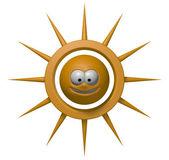 笑顔太陽 — ストック写真