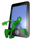Inside a smartphone — Stock Photo