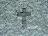Ice cross — Stock Photo