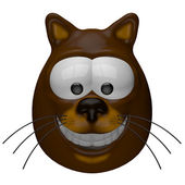 Smiling cat — Stock Photo