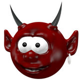 Devil head — Stock Photo