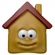 Happy house — Stock Photo