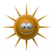 Grin sun — Stock Photo #9108632