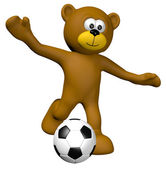 Soccer junior — Stock Photo