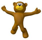 Teddy jump — Stock Photo
