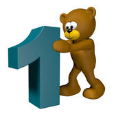 Number one — Stock Photo