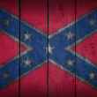 Confederate National Flag — Stock Photo
