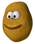 Potato face — Stock Photo