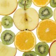 Multifruit background — Stock Photo