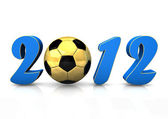 Football 2012 — Stock Photo