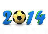 Football 2014 — Stock Photo