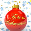 Frohe Weihnachten - Lizenzfreies Foto