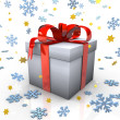 christmas gift — Stock Photo #10542414
