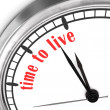 Stock Photo: Time To Live