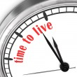 Stock fotografie: Time To Live