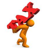 Tax Stress — Stock Photo