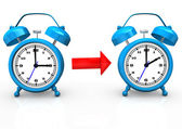 Time Change To Standard Time — Stock Photo