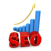 SEO CHART — Stock Photo