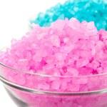 Sea color salt — Stock Photo