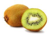 Section kiwi fruit — Stock Photo