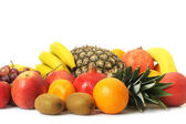 Set of exotic fruit — Stock Photo