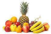 Set of exotic fruit — Stock Photo