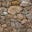Stock Photo: Old wall with stones, Sardinia, Europe