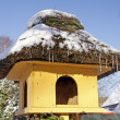 Aviary in winter, Germany, Europe - Lizenzfreies Foto
