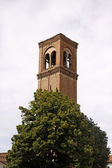 Mantova, Church tower of S. Domenica (Campanile di S. Domenico),Lombardy, I — Stock Photo