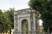 Verona, Arco dei Gavi, Roman building from the 1st century, Italy — Stock Photo