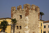 Bardolino, old town with an historical tower, Italy, Europe — Stock Photo
