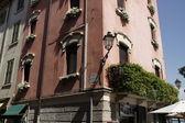 Old part of town of Peschiera del Garda, Italy — Stock Photo