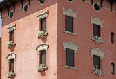 Old part of town of Peschiera del Garda, Lake Garda, Italy — Stock Photo