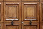 Detail dveří v verona, veneto, itálie, evropa — Stock fotografie