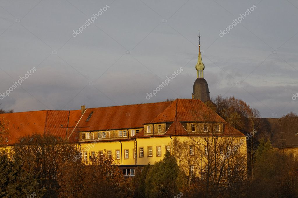 In the past, Kloster Oesede was a Benedictine cloister, monastery in Georgsmarienhuette, this in the area of the same name in the administrative district Osnabrück, Lower Saxony, Germany — Stock Photo #9979482