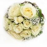 delicato bouquet da sposa — Foto Stock