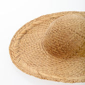 Stroh sonnenhut oder sombrero — Stockfoto
