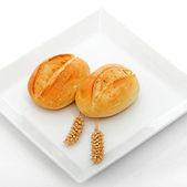 Fresh Crisp Bread Rolls — Stock Photo
