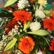 Colourful Gerbera Flower Decoration — Stock Photo