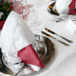 Elegant formal table setting — Stock Photo