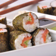 Sushi rollz - Stock Photo