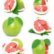 Pomelo fruits — Stock Photo