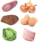 Produits alimentaires frais — Photo