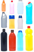Household chemical goods — Stock Photo