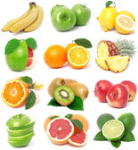 Coleção de frutas — Foto Stock